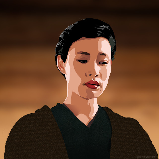 Twin peak illustrated - Josie Packard
