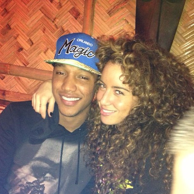 Jonathan de Guzman with beautiful, Girlfriend Sigourney Korper