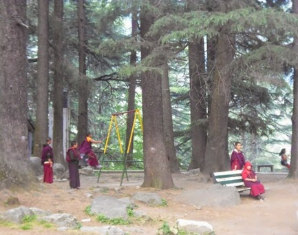 Monk in Manali