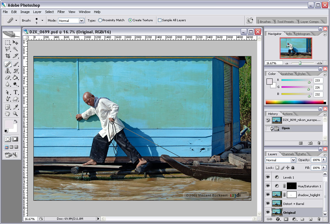 Download Photoshop CS2 full version.