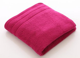Super Soft Bath Towel 42 inch x 22 inch (Pink) worth Rs.325 for Rs.125 Only