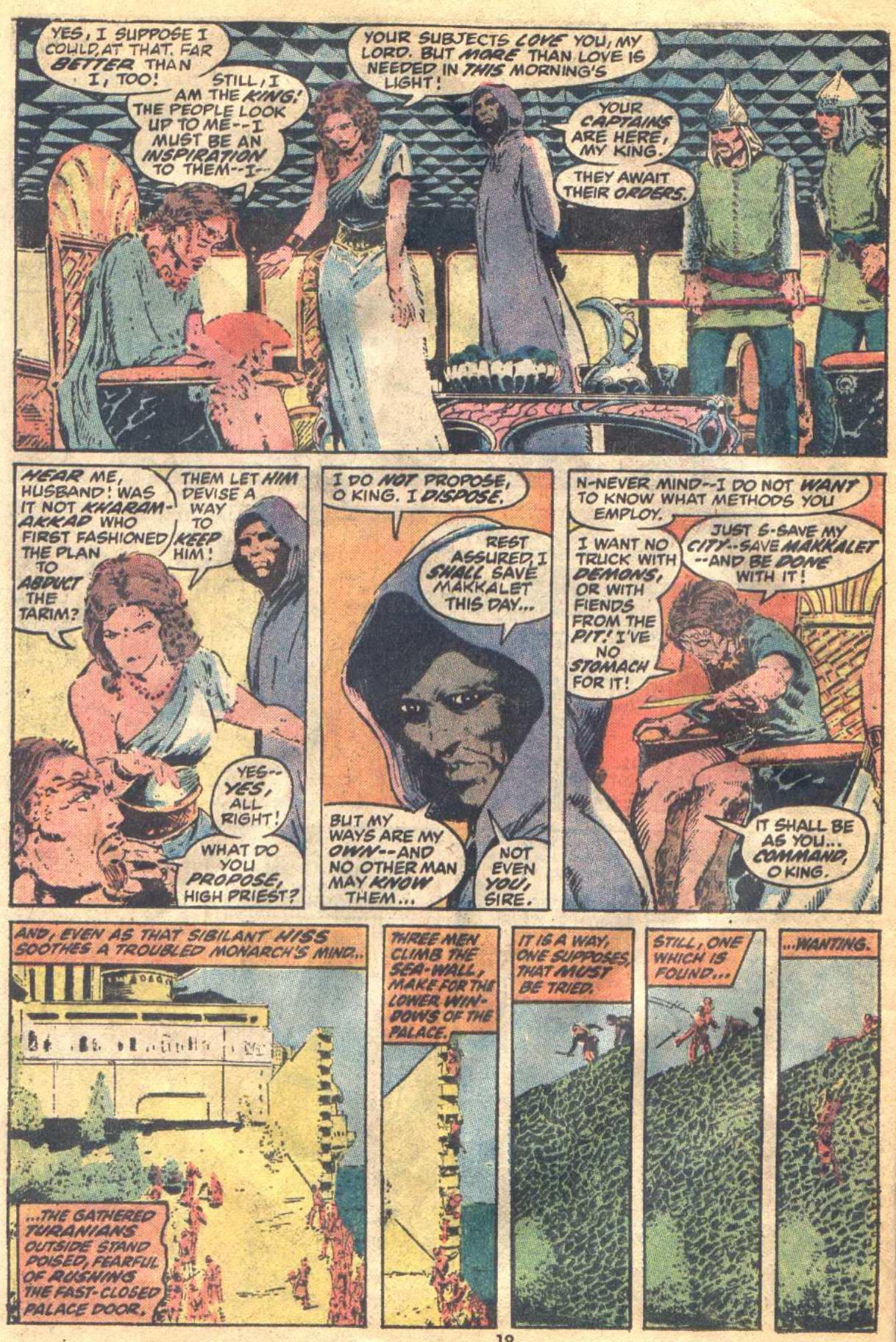 Conan the Barbarian (1970) Issue #19 #31 - English 14