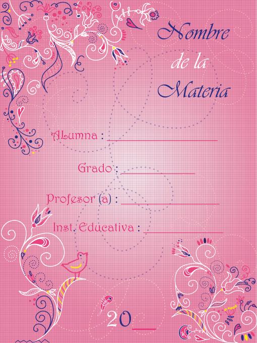 Caratulas Para Cuadernos Secundaria Imagui