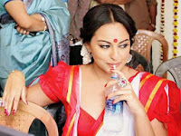 Sonakshi Sinha Looks Cute and Beautiful from movie Bullet Raja