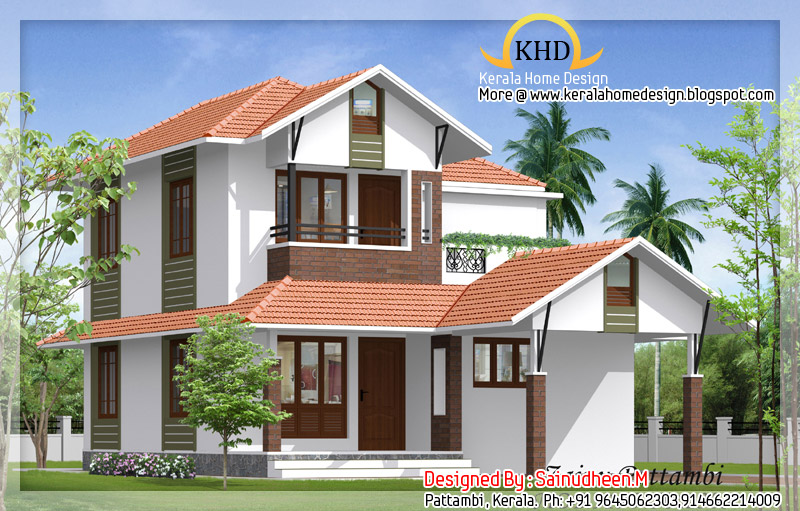... Beautiful House Elevation Designs - Kerala home design and floor plans