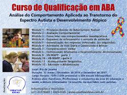 Curso de Qualificação em ABA - Análise do Comportamento Aplicada ao TEA e Desenvolvimento Atípico