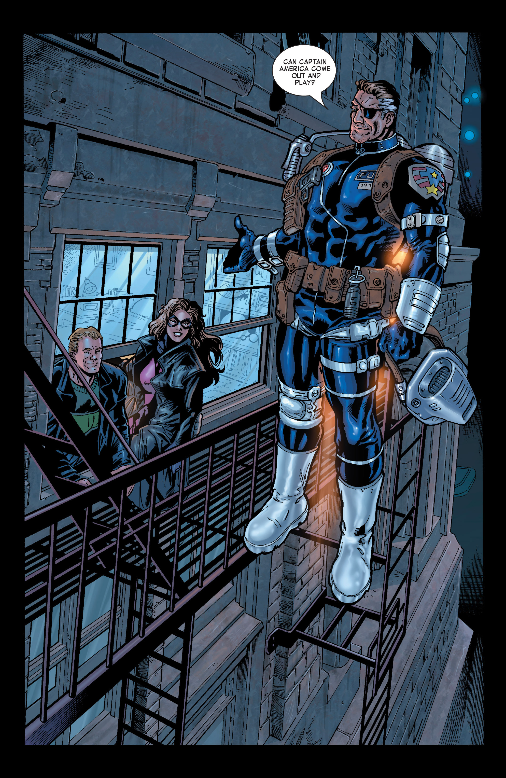 Captain America (2002) Issue #29 #30 - English 9