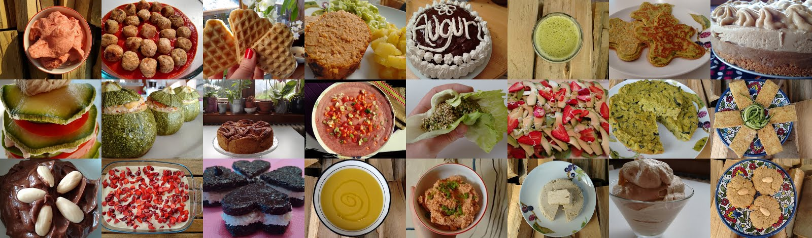 Blog di cucina con ricette colorate, sfiziose e golosamente Vegan, con e senza bimby!