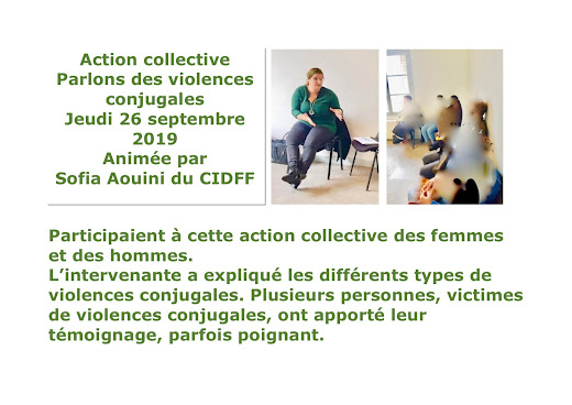 Parlons des violences conjugales - 26 septembre 2019
