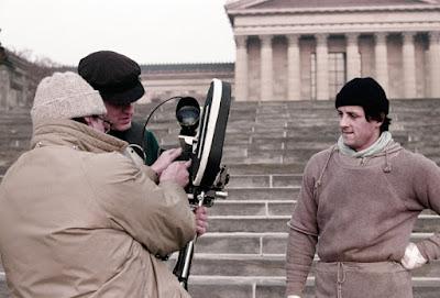 Rocky detrás de las cámaras