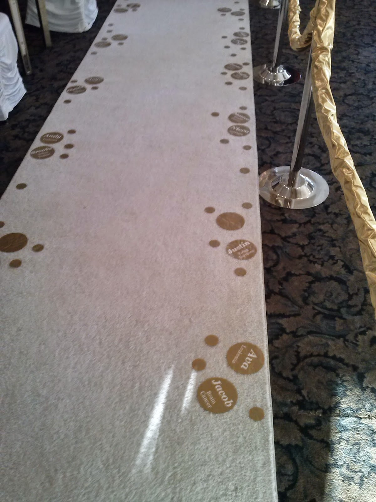 Journey 24k Gold Carpet Vinyl Decals