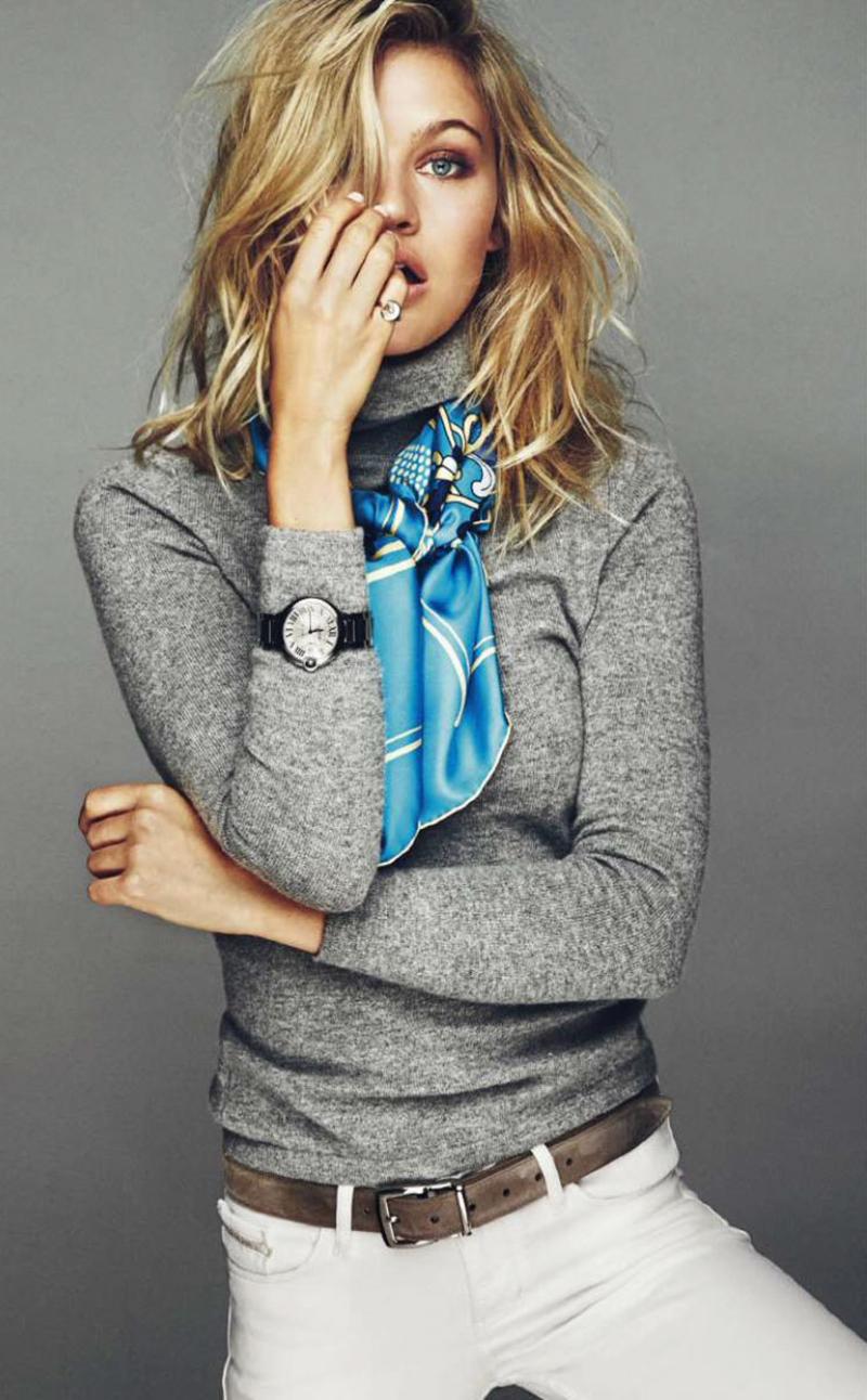 Caroline Corinth for Elle Spain by Mario Sierra