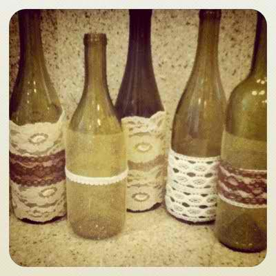Foldover elastic diy 5 amazing things you can make with for Things made from wine bottles