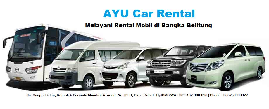Sewa Mobil Belitung - Rental Mobil Bangka Belitung