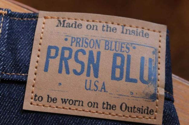 Made in Prison Blues Jeans