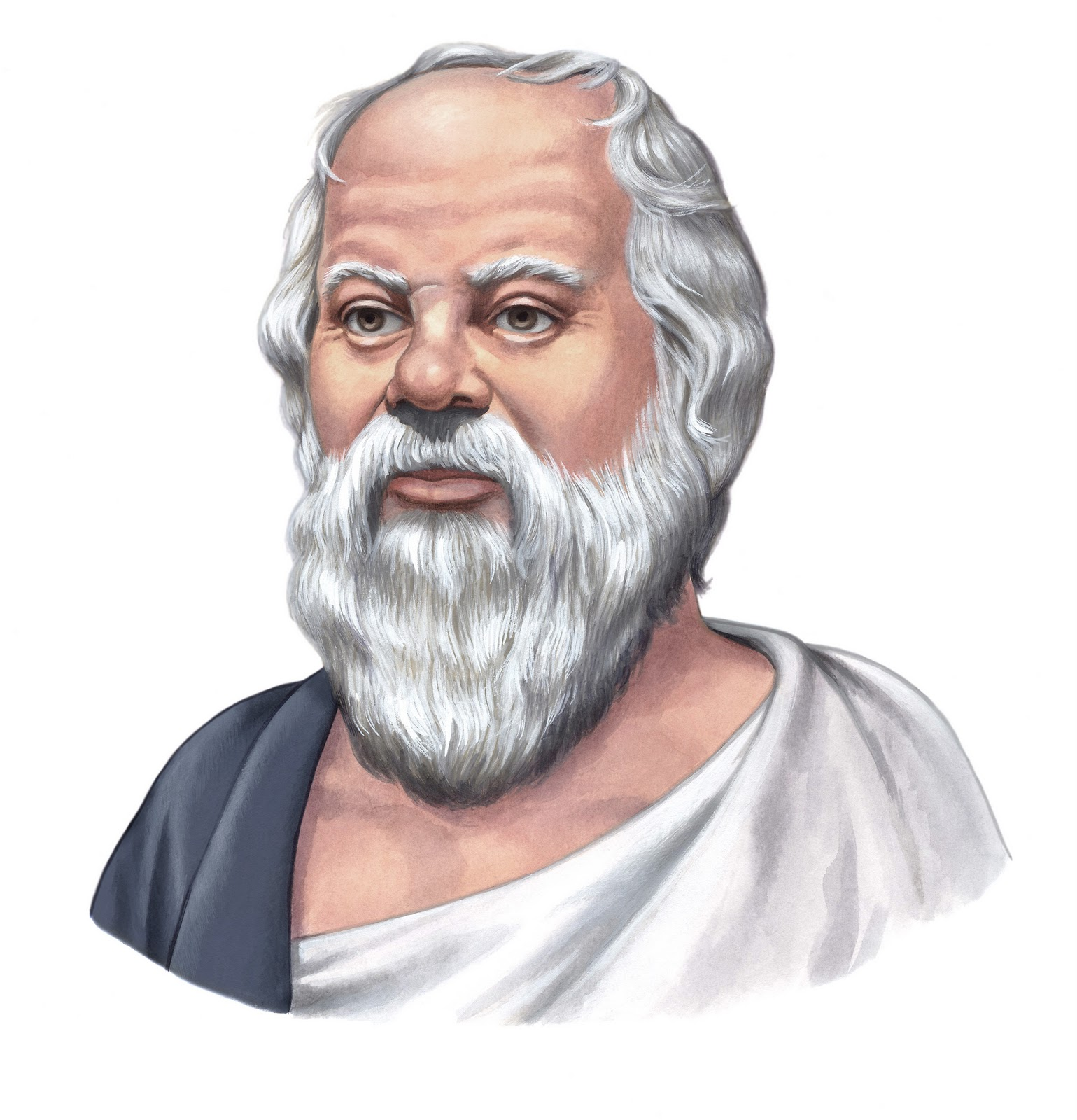 about the lives of the big three Ancient Greek philosophers, Socrates ...