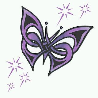 Tatoos y Tatuajes de Mariposas, parte 7