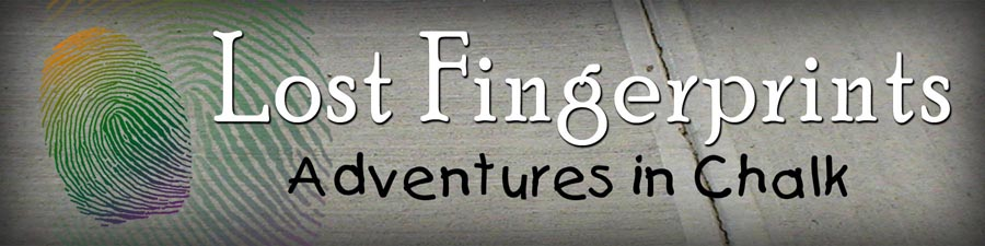 Lost Fingerprints - Adventures in chalk