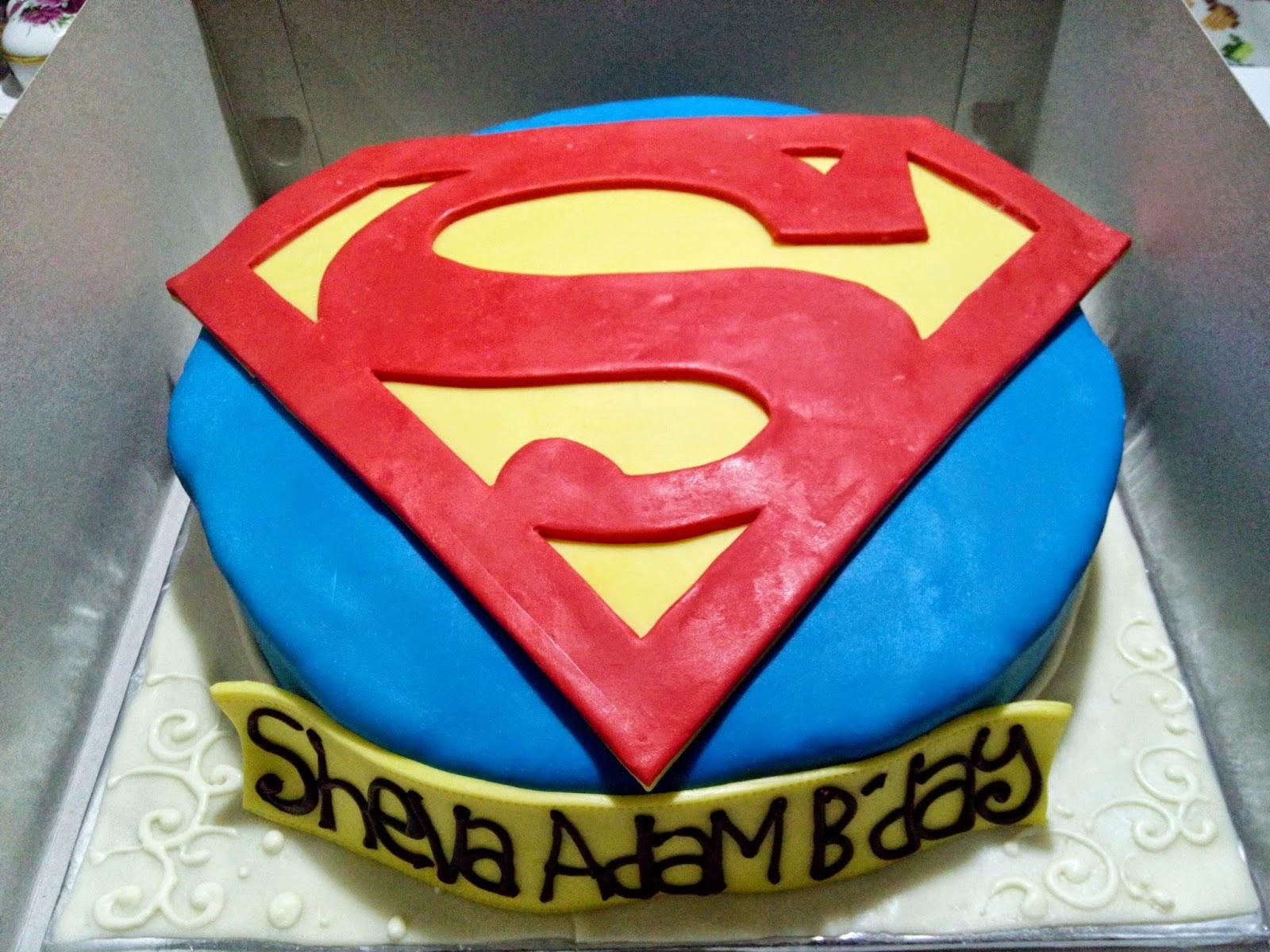 Cake Malang, Coklat Malang, Tart Malang, 3D Cake, Superman Cake