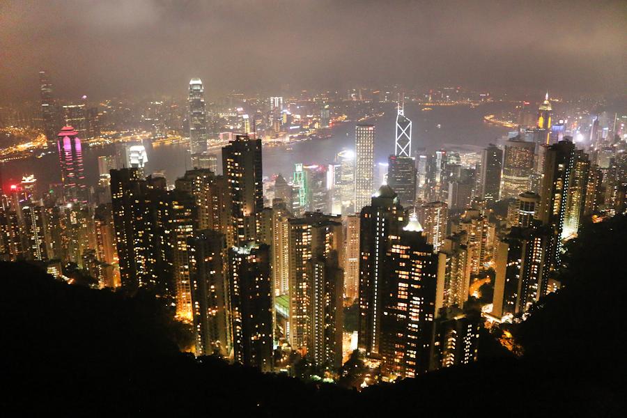 Victoria Peak, Hong-Kong
