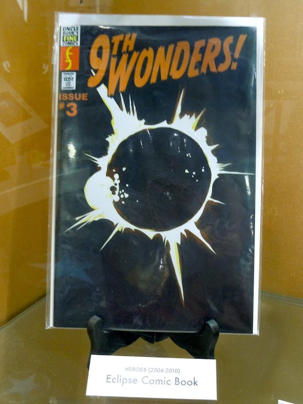 9th Wonders comic book prop Heroes