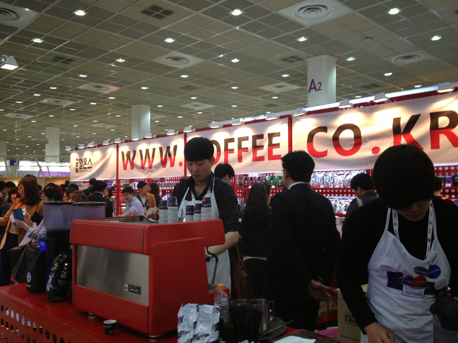 Coffee Expo? It's that time already!