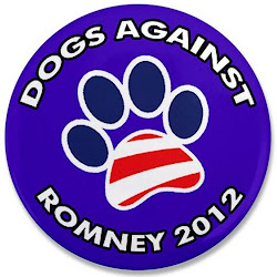Official Dogs Against Romney Buttons