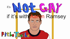 NEW VIDEO - It's not gay if it's with Aaron Ramsey
