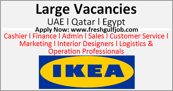 Latest jobs at ikea uae l qatar l egypt fresh gulf jobs Ikea security jobs