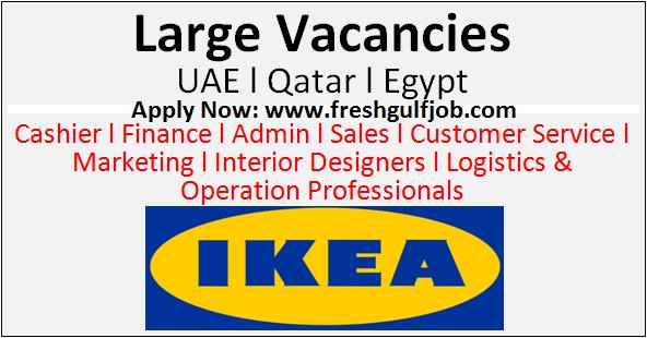 Latest Jobs At Ikea Uae L Qatar L Egypt Fresh Gulf Jobs: ikea security jobs