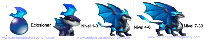 imagen del crecimiento del night wind dragon