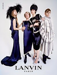LANVIN FEMME FW2014/15 Ad Campaign