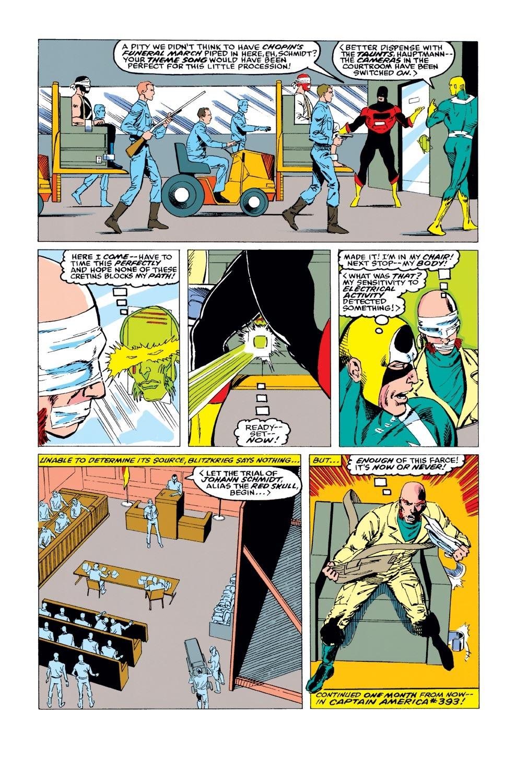 Captain America (1968) Issue #391 #324 - English 23