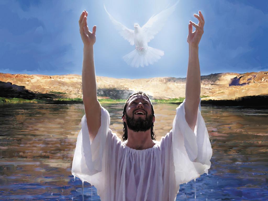 Baptism Jesu of Holy Spirit