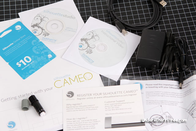Under A Cherry Tree The Silhouette Cameo Review 1 The Unboxing