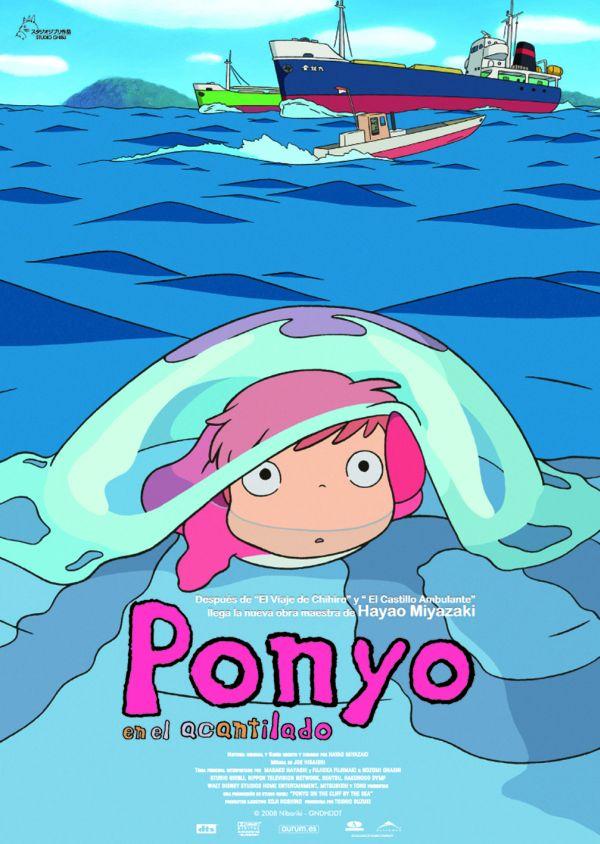 Ponyo en el acantilado torre de hechiceria - Acantilado filmaffinity ...