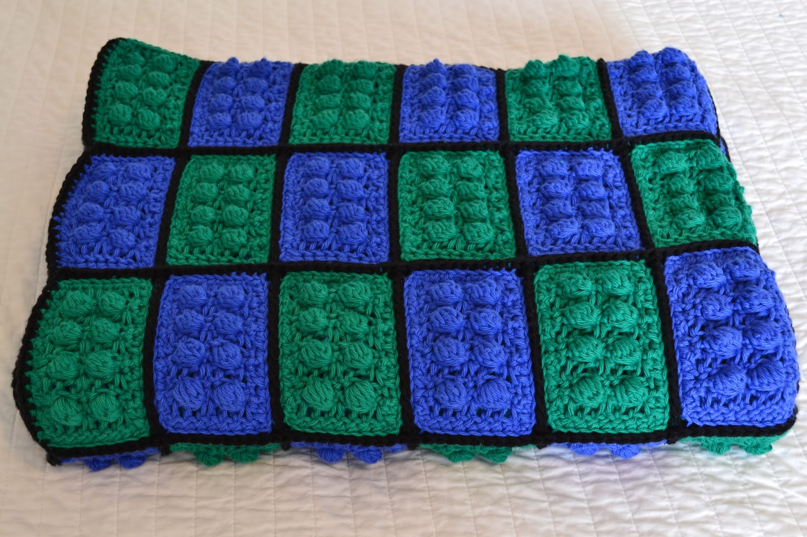 Crochet Lego Blanket : All Things Bright and Beautiful: Custom Crochet Lego Blankets