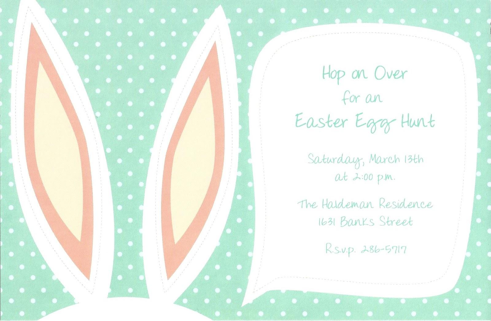 Cute Birthday Party Invitations - Free Printable Invitation ...