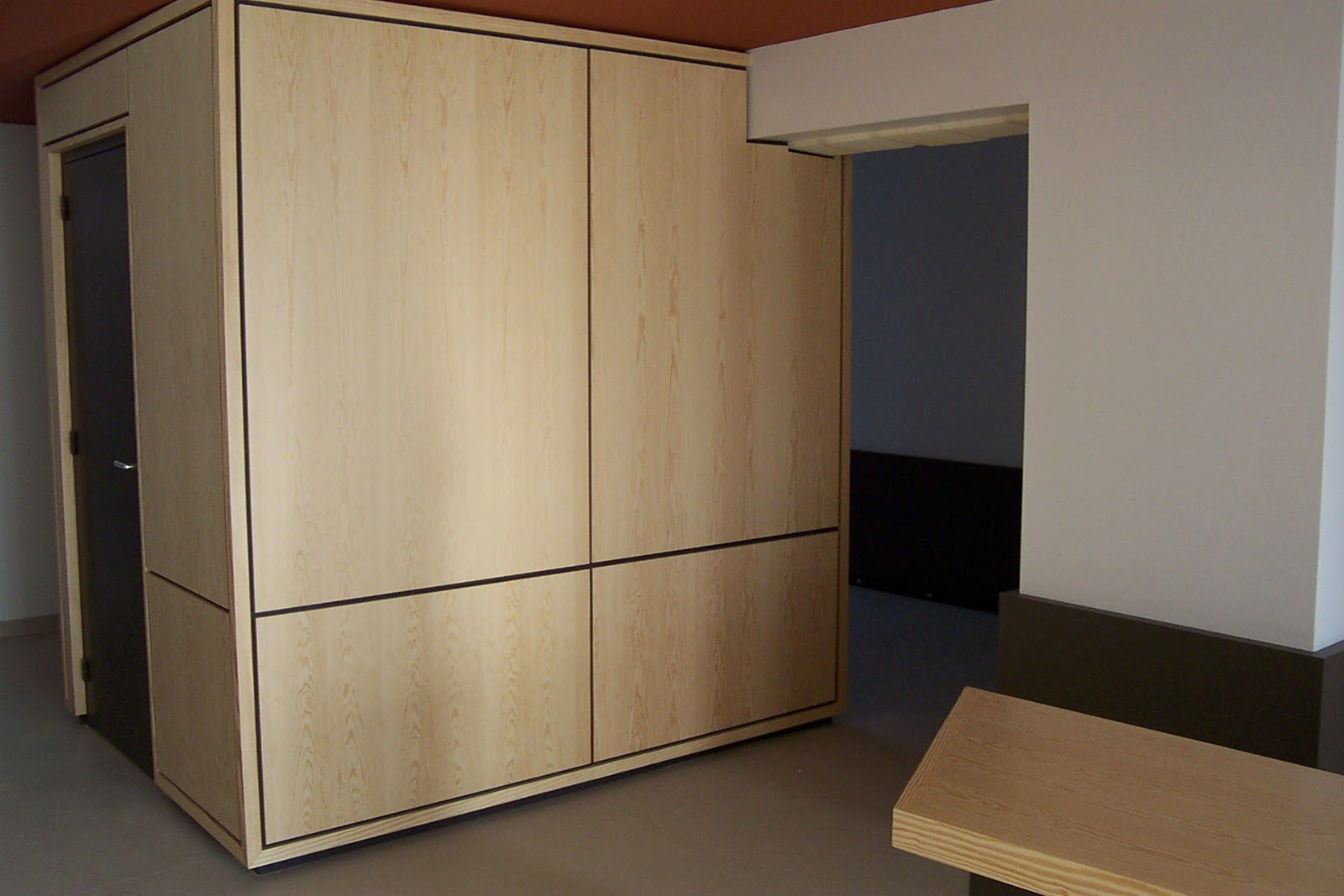 habillage mural bois ancien. Black Bedroom Furniture Sets. Home Design Ideas