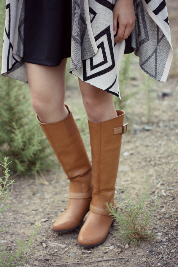 outfit with riding boots