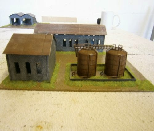 Making Stalingrad Ruined Factory Three Pictures 14