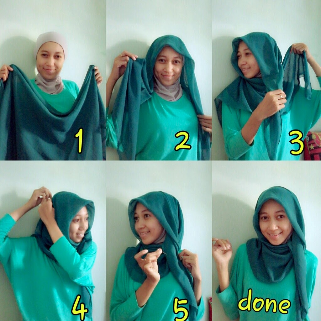 IVANIAR HIJAB Model Hijab Santai Paris
