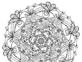Mandala Coloring Pages Advanced Level