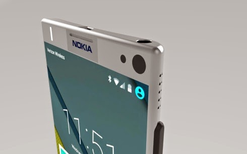 Nokia (Finland) Android concept