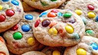 Resep Cara Membuat Kue Rainbow Cookies Pelangi Kering Renyah Mudah