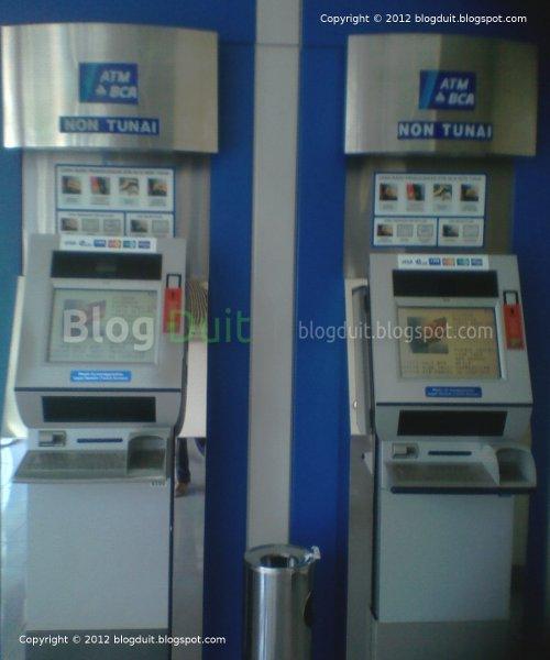 Gambar Ambil Mesin ATM BCA Non Tunai