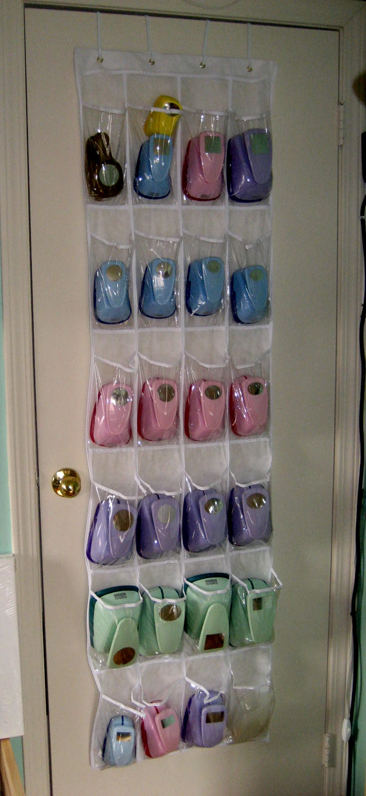 the door shoe organizer