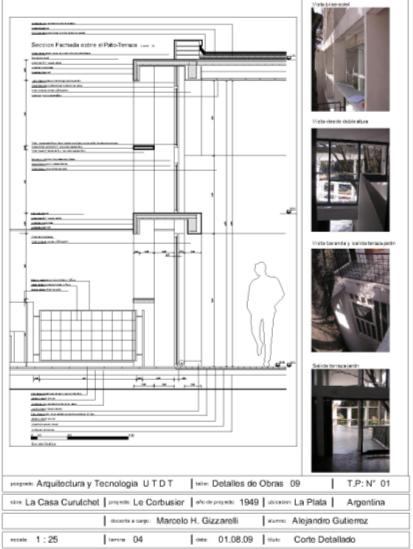 Arquitectura y tecnolog a septiembre 2011 for Estudios de arquitectura la plata