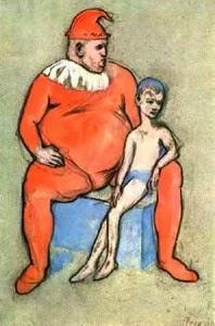 Pablo Picasso: Saltimbanques/Acrobats, 1905.