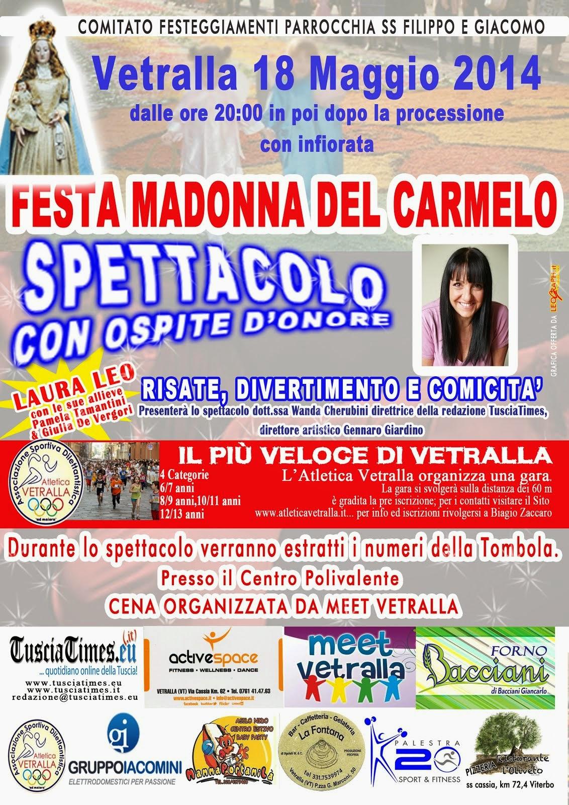 Vetralla Festa Madonna del Carmelo